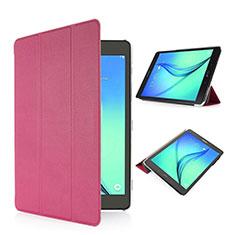 Samsung Galaxy Tab S2 8.0 SM-T710 SM-T715用手帳型 レザーケース スタンド サムスン ピンク