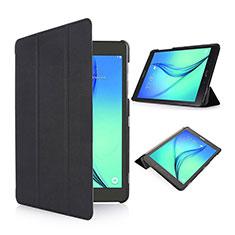 Samsung Galaxy Tab S2 8.0 SM-T710 SM-T715用手帳型 レザーケース スタンド サムスン ブラック