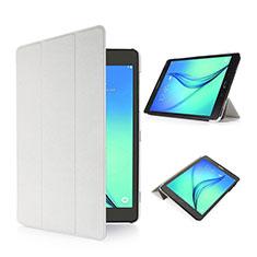 Samsung Galaxy Tab S2 8.0 SM-T710 SM-T715用手帳型 レザーケース スタンド サムスン ホワイト