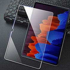 Samsung Galaxy Tab S7 11 Wi-Fi SM-T870用強化ガラス 液晶保護フィルム T02 サムスン クリア
