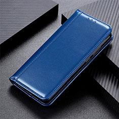 Samsung Galaxy XCover Pro用手帳型 レザーケース スタンド カバー L04 サムスン ネイビー
