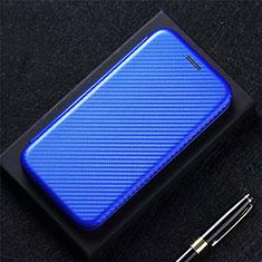 Samsung Galaxy XCover Pro用手帳型 レザーケース スタンド カバー L10 サムスン ネイビー
