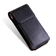 Samsung W(2016)用クロコダイル柄レザーケース カバー サムスン ブラック