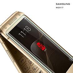 Samsung W(2017)用強化ガラス 液晶保護フィルム サムスン クリア