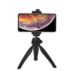 Samsung Galaxy S21 Plus 5G用無線 Bluetooth じどり棒 自撮り棒自分撮りスティック 三脚架 セルフィスティック T07 ブラック