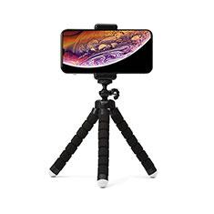 Samsung Galaxy S21 Plus 5G用無線 Bluetooth じどり棒 自撮り棒自分撮りスティック 三脚架 セルフィスティック T16 ブラック