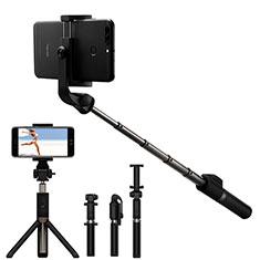 Huawei Mate 30用無線 Bluetooth じどり棒 自撮り棒自分撮りスティック セルフィスティック S23 ブラック