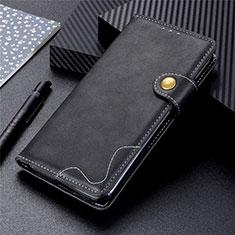 Sharp AQUOS Sense4 Plus用手帳型 レザーケース スタンド カバー L03 Sharp ブラック