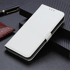 Sharp AQUOS Sense4 Plus用手帳型 レザーケース スタンド カバー L05 Sharp ホワイト