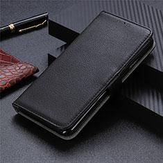 Sharp AQUOS Sense4 Plus用手帳型 レザーケース スタンド カバー L05 Sharp ブラック