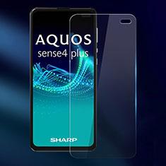 Sharp AQUOS Sense4 Plus用強化ガラス 液晶保護フィルム Sharp クリア