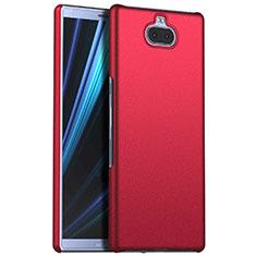 Sony Xperia 10用ハードケース プラスチック 質感もマット M01 ソニー レッド