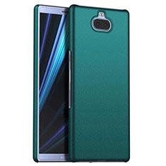 Sony Xperia 10用ハードケース プラスチック 質感もマット M01 ソニー グリーン
