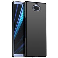 Sony Xperia 10用ハードケース プラスチック 質感もマット M01 ソニー ブラック