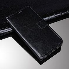Sony Xperia 10 Plus用手帳型 レザーケース スタンド カバー ソニー ブラック