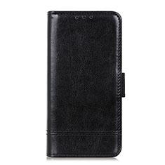 Sony Xperia 5 II用手帳型 レザーケース スタンド カバー L04 ソニー ブラック
