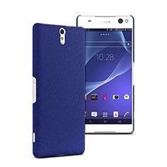 Sony Xperia C5 Ultra用ハードケース プラスチック 質感もマット ソニー ネイビー