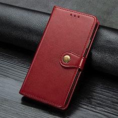 Sony Xperia L4用手帳型 レザーケース スタンド カバー L02 ソニー レッド