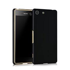 Sony Xperia M5用ハードケース プラスチック 質感もマット ソニー ブラック