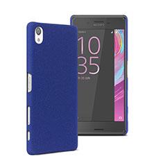 Sony Xperia X用ハードケース プラスチック 質感もマット ソニー ネイビー
