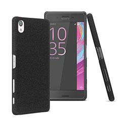 Sony Xperia X用ハードケース プラスチック 質感もマット ソニー ブラック