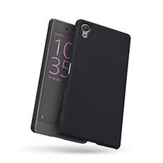 Sony Xperia X用ハードケース プラスチック メッシュ デザイン ソニー ブラック