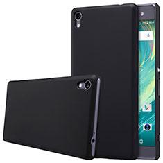 Sony Xperia XA Ultra用ハードケース プラスチック 質感もマット ソニー ブラック