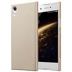 Sony Xperia XA1用ハードケース プラスチック 質感もマット ソニー ゴールド