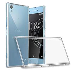 Sony Xperia XA1 Plus用ハードケース クリスタル クリア透明 ソニー クリア