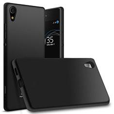 Sony Xperia XA1 Ultra用極薄ソフトケース シリコンケース 耐衝撃 全面保護 ソニー ブラック
