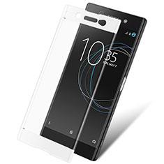 Sony Xperia XA1 Ultra用強化ガラス フル液晶保護フィルム ソニー ホワイト