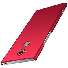 Sony Xperia XA2用ハードケース プラスチック 質感もマット M01 ソニー レッド