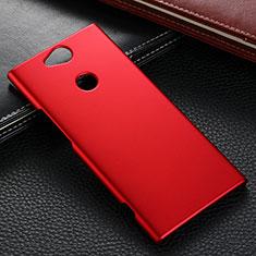Sony Xperia XA2用ハードケース プラスチック 質感もマット M02 ソニー レッド