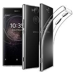 Sony Xperia XA2 Plus用極薄ソフトケース シリコンケース 耐衝撃 全面保護 クリア透明 カバー ソニー クリア