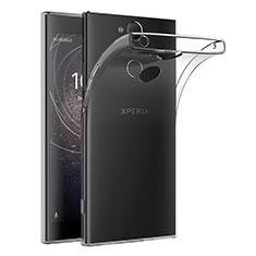 Sony Xperia XA2 Plus用極薄ソフトケース シリコンケース 耐衝撃 全面保護 クリア透明 T02 ソニー クリア