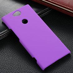 Sony Xperia XA2 Ultra用ハードケース プラスチック 質感もマット M02 ソニー パープル