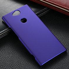 Sony Xperia XA2 Ultra用ハードケース プラスチック 質感もマット M02 ソニー ネイビー