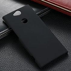 Sony Xperia XA2 Ultra用ハードケース プラスチック 質感もマット M02 ソニー ブラック
