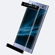 Sony Xperia XA2 Ultra用強化ガラス フル液晶保護フィルム F02 ソニー ブラック