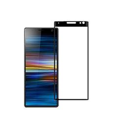 Sony Xperia XA3用強化ガラス フル液晶保護フィルム ソニー ブラック