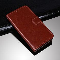 Sony Xperia XA3 Ultra用手帳型 レザーケース スタンド カバー ソニー ブラウン