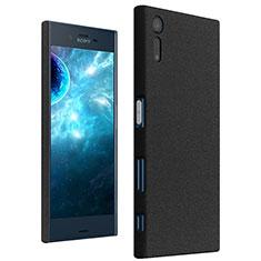 Sony Xperia XZ用ハードケース カバー プラスチック ソニー ブラック
