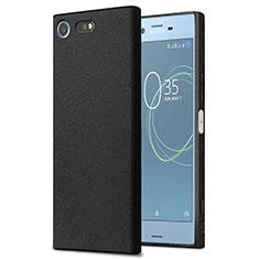 Sony Xperia XZ Premium用ハードケース カバー プラスチック ソニー ブラック