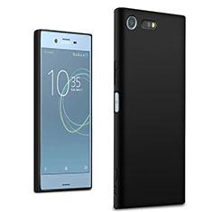 Sony Xperia XZ Premium用極薄ソフトケース シリコンケース 耐衝撃 全面保護 ソニー ブラック