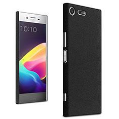 Sony Xperia XZ Premium用ハードケース プラスチック カバー ソニー ブラック