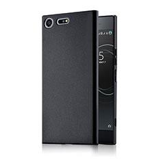 Sony Xperia XZ Premium用ハードケース プラスチック 質感もマット M01 ソニー ブラック
