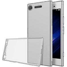 Sony Xperia XZ1用極薄ソフトケース シリコンケース 耐衝撃 全面保護 クリア透明 ソニー クリア