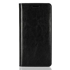 Sony Xperia XZ2用手帳型 レザーケース スタンド カバー ソニー ブラック