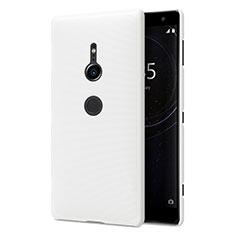 Sony Xperia XZ2用ハードケース プラスチック 質感もマット M02 ソニー ホワイト