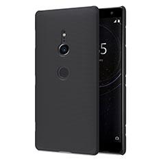 Sony Xperia XZ2用ハードケース プラスチック 質感もマット M02 ソニー ブラック